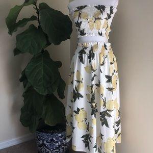 Dresses & Skirts - Two Piece Lemon Design Set